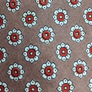 Arrow Accessories - Vintage 1960s Floral Print Arrow tie
